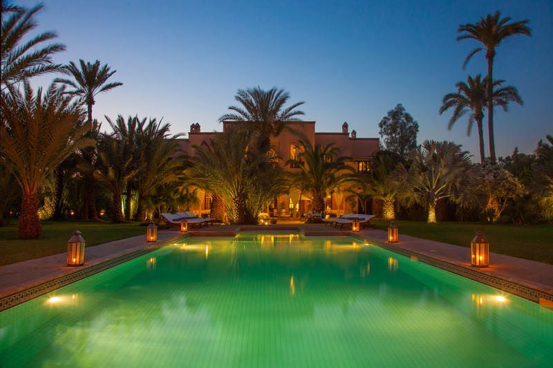 marrakech wedding planner Marrakech Wedding Planner Villa La Palmeraie Bleue 11