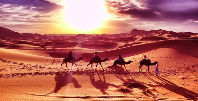 Excursion Désert Maroc : De Marrakech à Merzouga